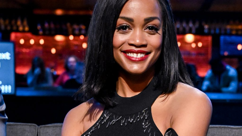 Rachel Lindsay as a guest judge on 'The Bachelor: Listen to Your Heart' in 2020