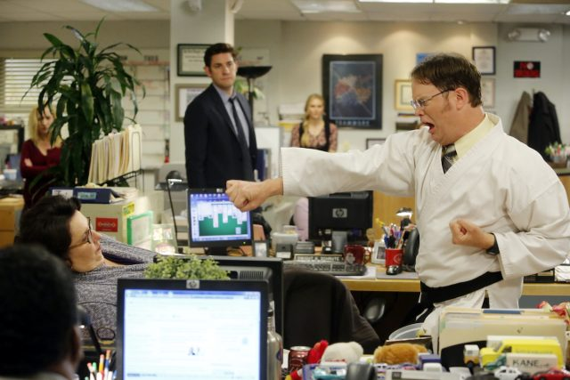 'The Office': Rainn Wilson's Secret To Playing Dwight Schrute