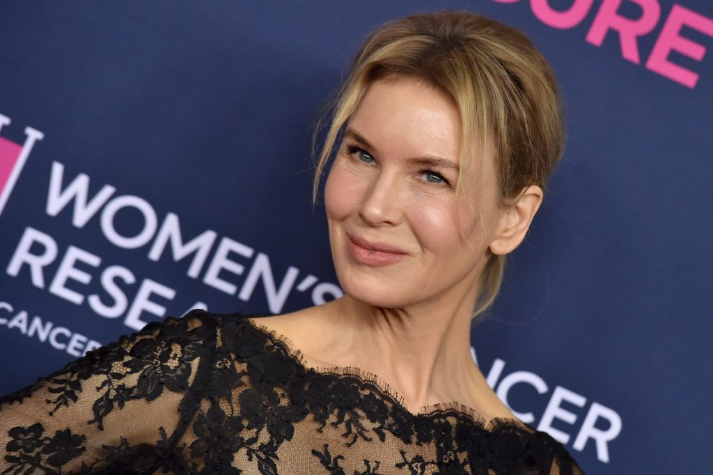 Renee Zellweger attends The Women's Cancer Research Fund's An Unforgettable Evening 2020 at Beverly Wilshire, A Four Seasons Hotel on February 27, 2020 in Beverly Hills, California.