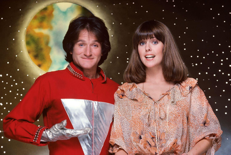 Robin Williams and Pam Dawber on 'Mork & Mindy'