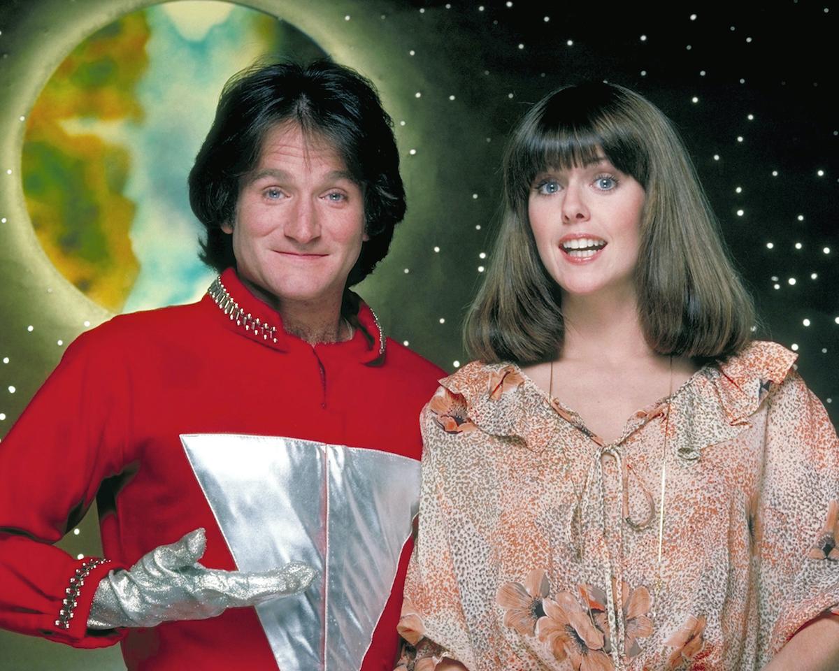 'Mork & Mindy' stars Robin Williams and Pam Dawber