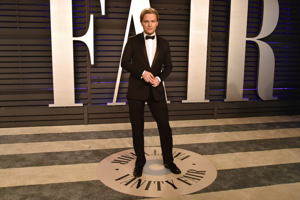 Ronan Farrow attends the 2019 Vanity Fair Oscar Party at Wallis Annenberg Center for the Performing Arts