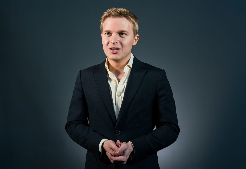 Ronan Farrow attends the Forbes Under 30 Summit at Pennsylvania Convention Center on October 6, 2015