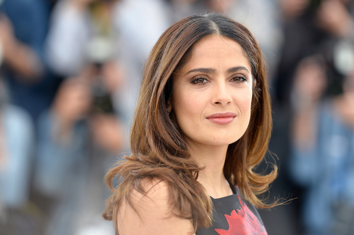 Salma Hayek at the 2015 Cannes Film Festival