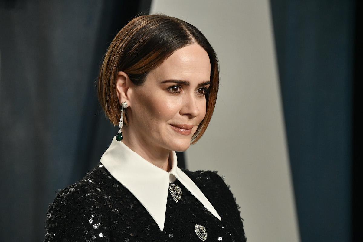 Sarah Paulson at the 2020 Vanity Fair Oscar Party