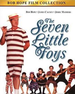 Promotional image for 'The Seven Little Foys' starring Bob Hope