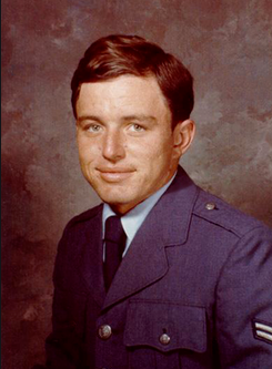 Jerry Mathers in his U.S. National Guard uniform