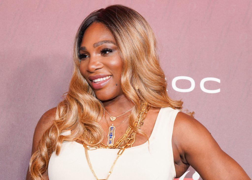 Serena Williams attends Sports Illustrated Fashionable 50 at The Sunset Room on July 18, 2019 in Los Angeles, California | Rachel Luna/WireImage