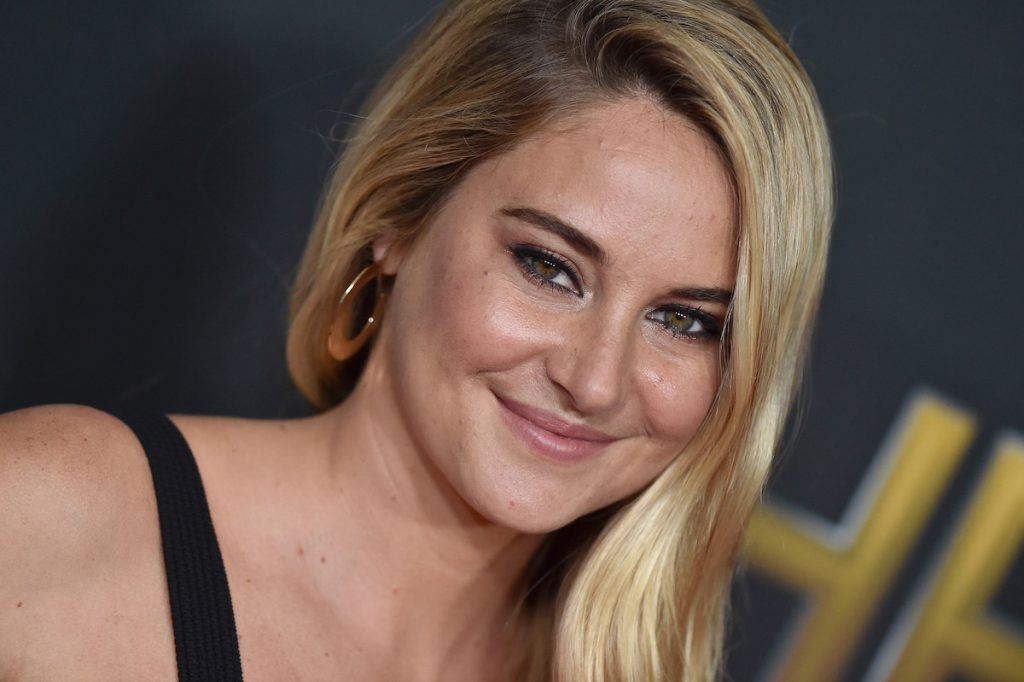 Actress Shailene Woodley arrives at the 21st-annual Hollywood Film Awards at the Beverly Hilton Hotel on November 5, 2017, in Beverly Hills, California.