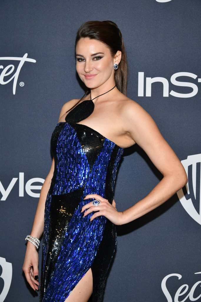 Shailene Woodley at 21st Annual Warner Bros. and InStyle Golden Globe After Party