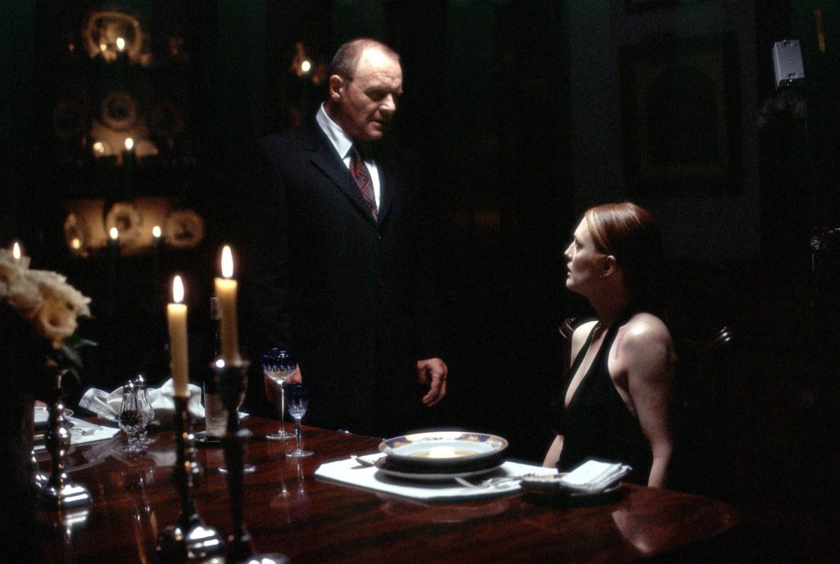 Anthony Hopkins stars as Dr. Hannibal Lecter and Julianne Moore stars as FBI Agent Clarice Starling in 'Hannibal' |
