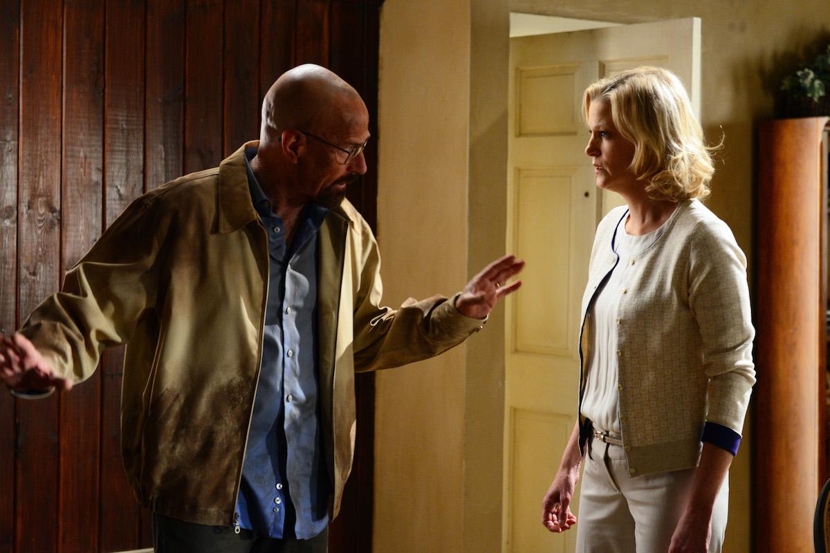 Walter White and Skyler White on 'Breaking Bad'