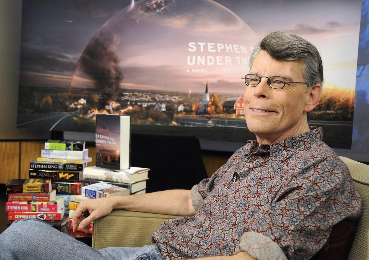 Stephen King on 'Good Morning America' in 2009