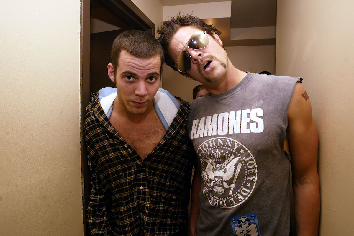 Johnny Knoxville and Steve-O from Jackass
