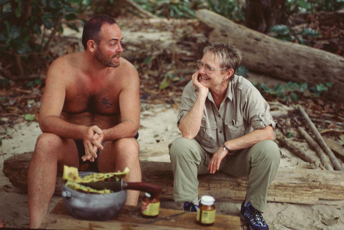 Richard Hatch and Sonja Christopher chat on 'Survivor'