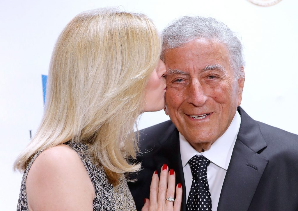 Susan Crow and husband Tony Bennett