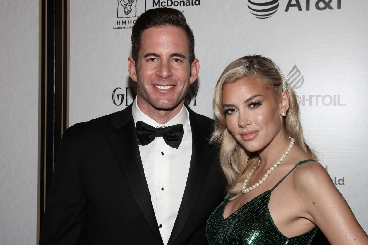 Tarek El Moussa and Heather Rae Young pose at event for Ronald McDonald House Los Angeles