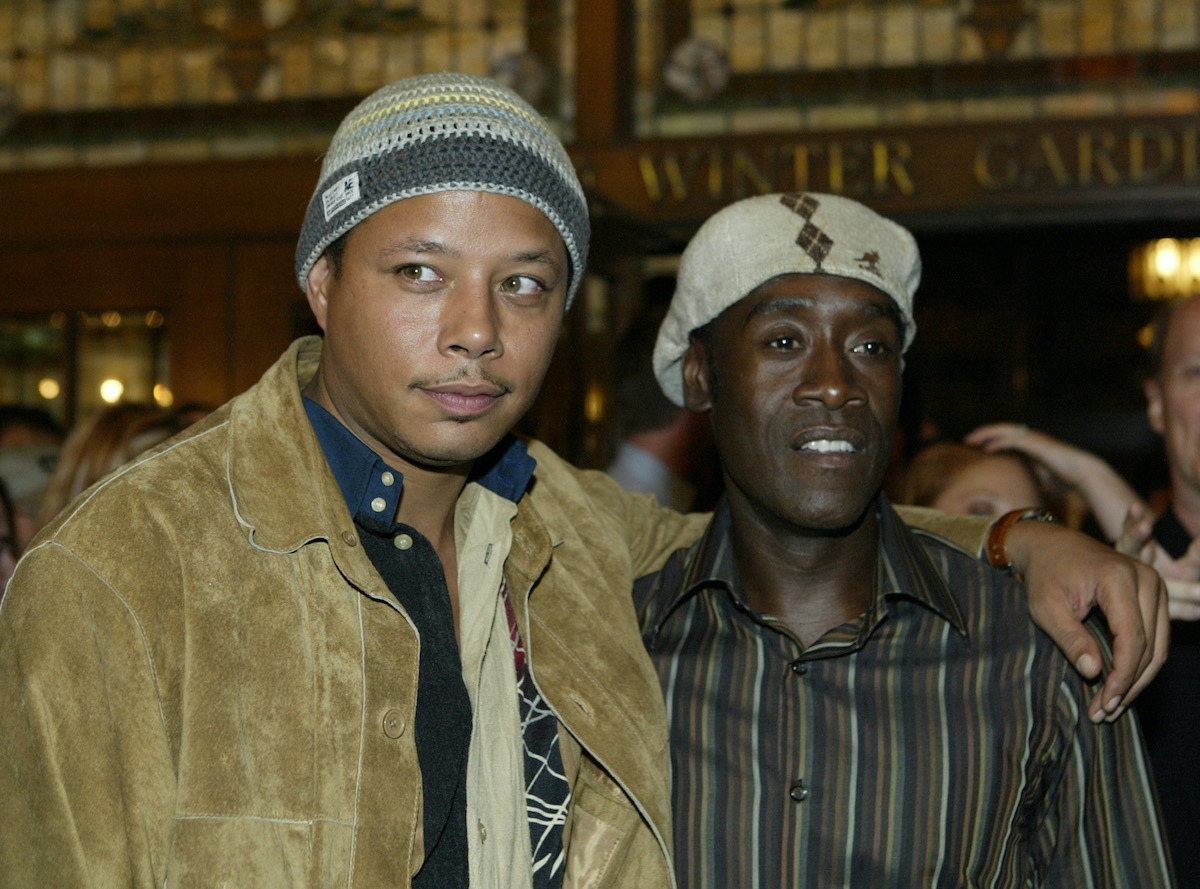 Terrence Howard and Don Cheadle at the Toronto International Film Festival in 2004