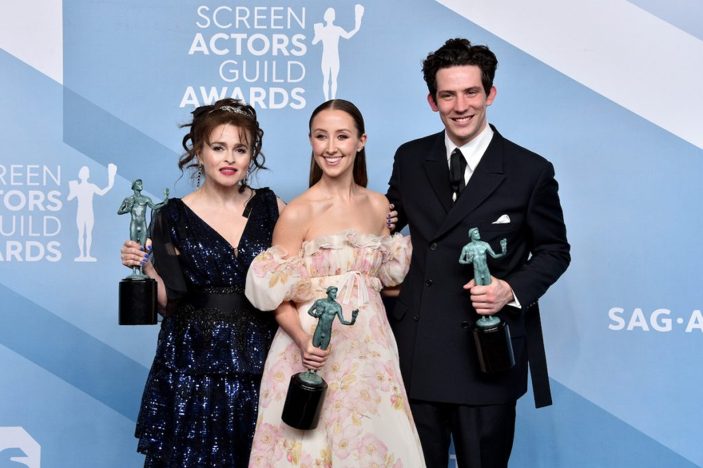 'The Crown' cast at the Screen Actors Guild Awards