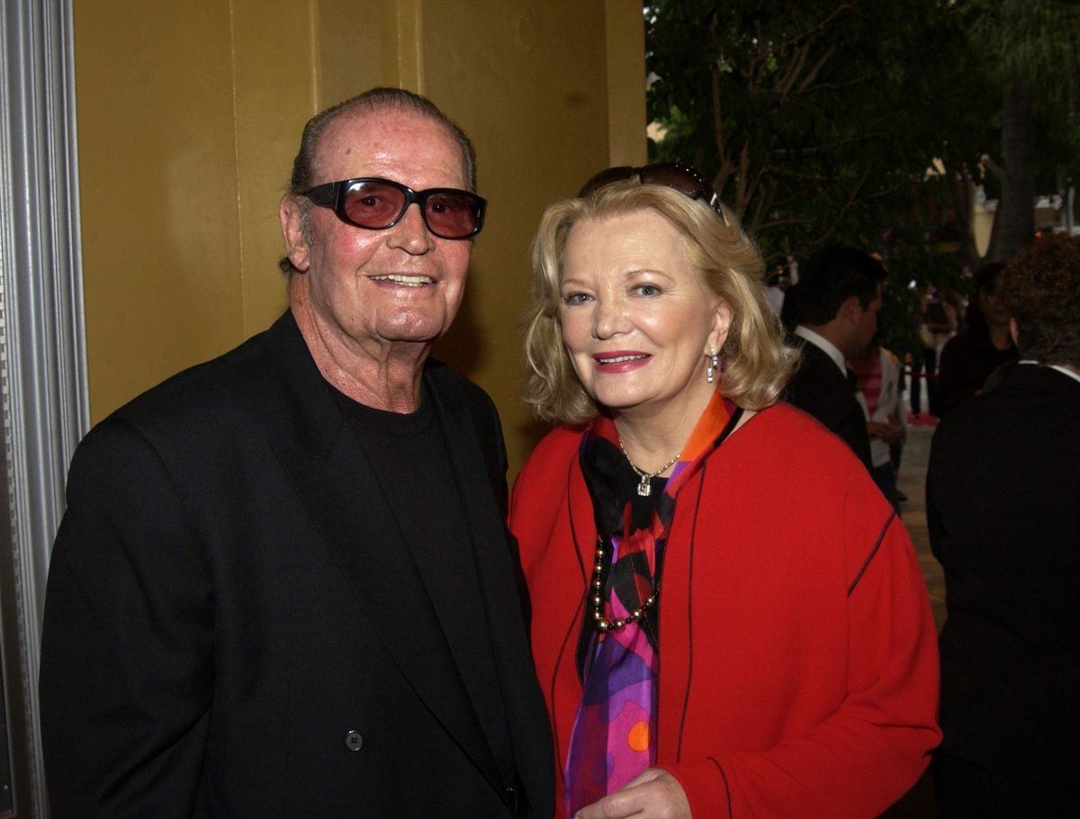The Notebook cast members James Garner and Gena Rowlands together