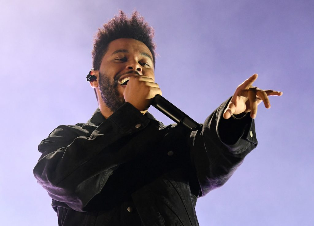 The Weeknd performs onstage during the 2018 Global Citizen Concert at Central Park, Great Lawn on September 29, 2018 in New York City | Kevin Mazur/Getty Images for Global Citizen
