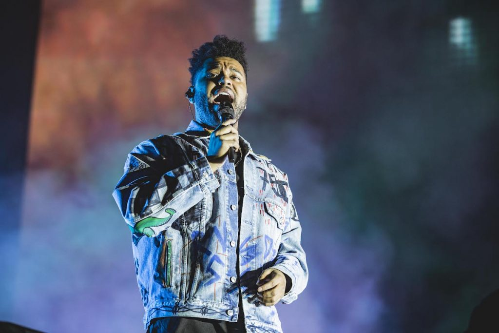 Canadian singer The Weeknd performs live on stage during the first day of the Lollapalooza Berlin music festival at Olympiagelände on September 1, 2018 in Berlin, Germany   Gina Wetzler/Redferns