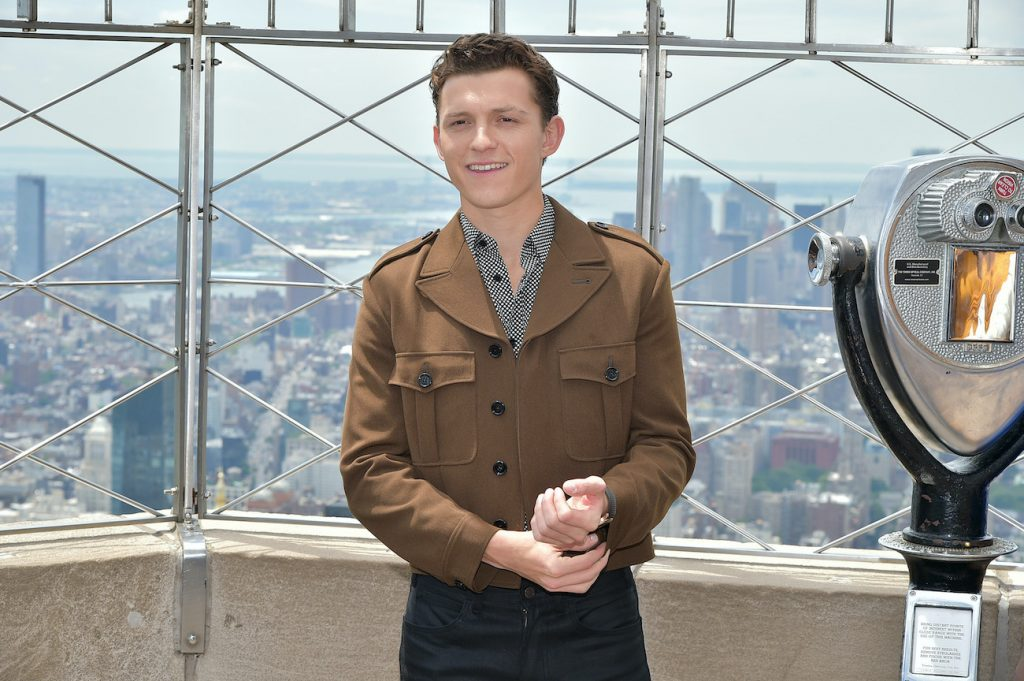 Tom Holland Uncharted actor