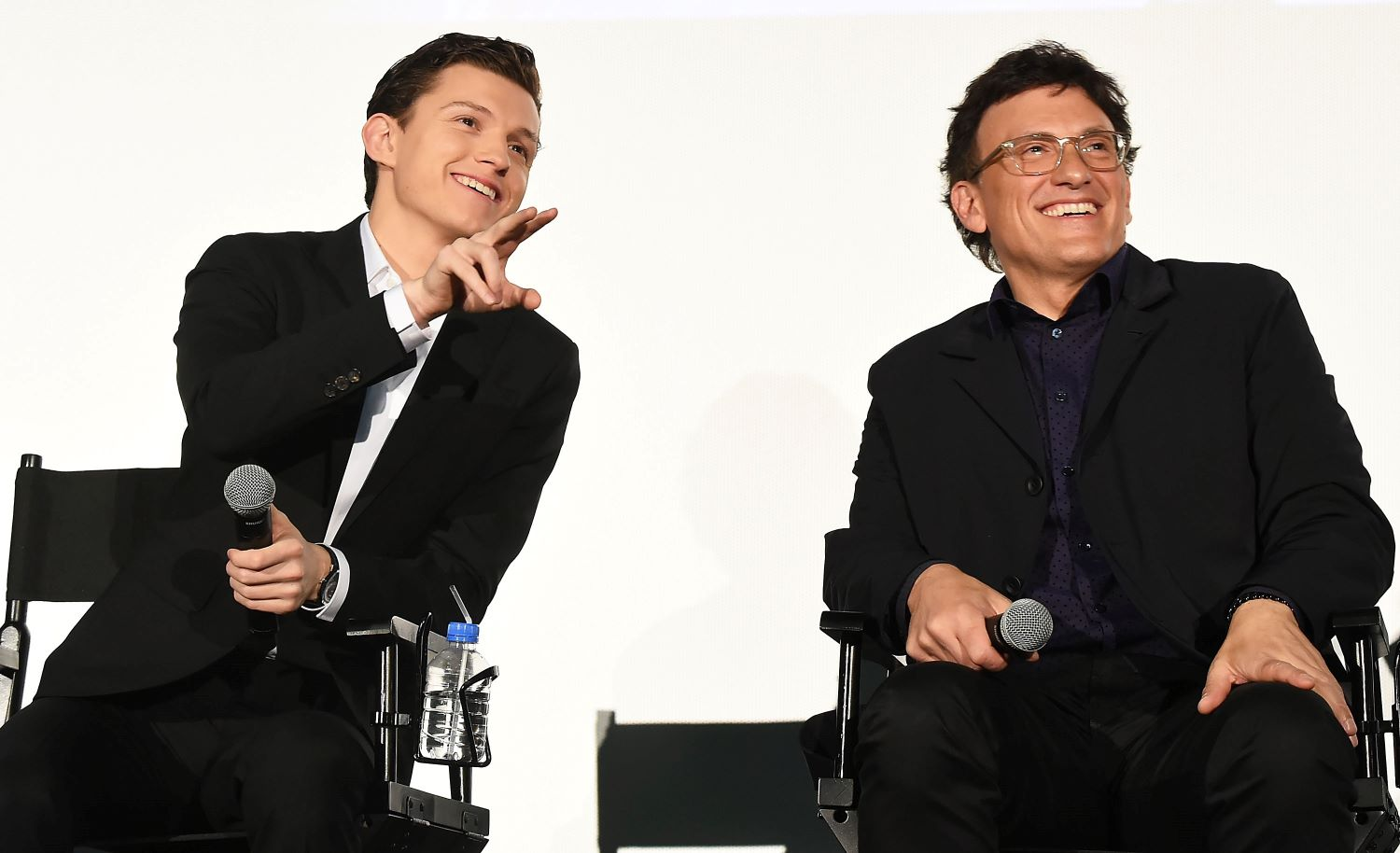 Tom Holland and Anthony Russo