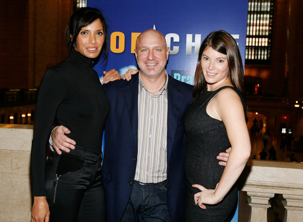 """Top Chef"" host Padma Lakshmi, head judge Tom Colicchio and judge Gail Simmons attends Bravo's ""Top Chef"" event ""Taste of the Five Boroughs"""