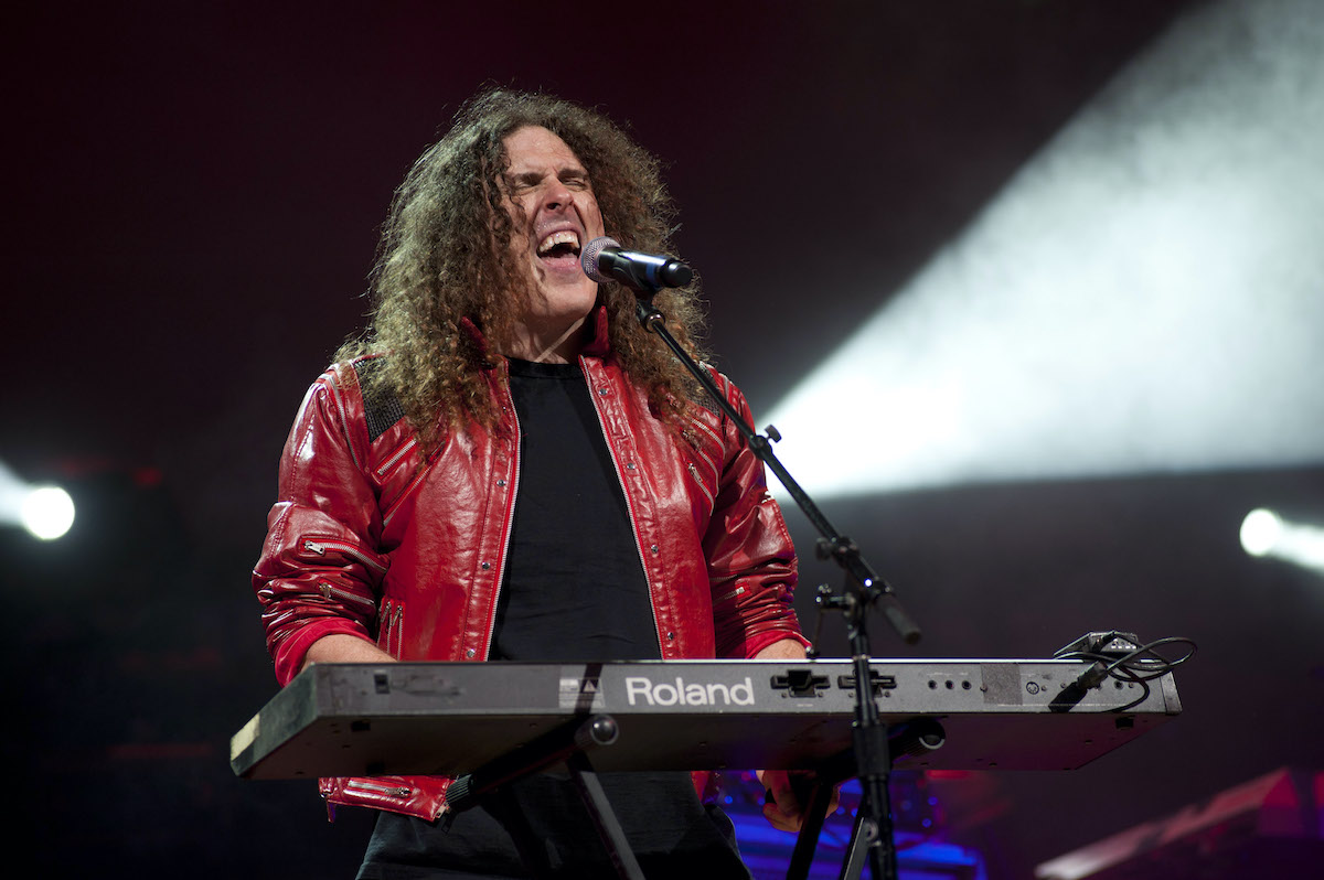 'Weird Al' Yankovic performs onstage in 2010