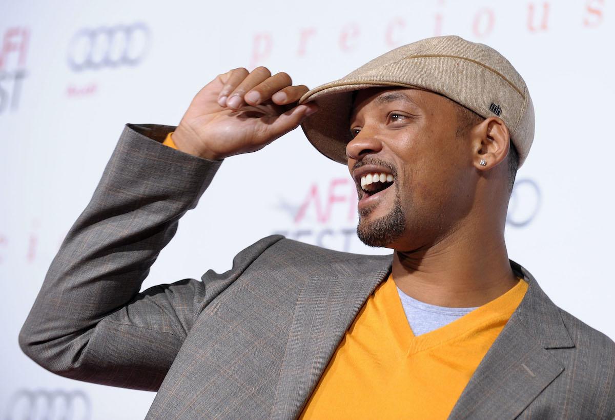 Will Smith at a 'Precious' screening