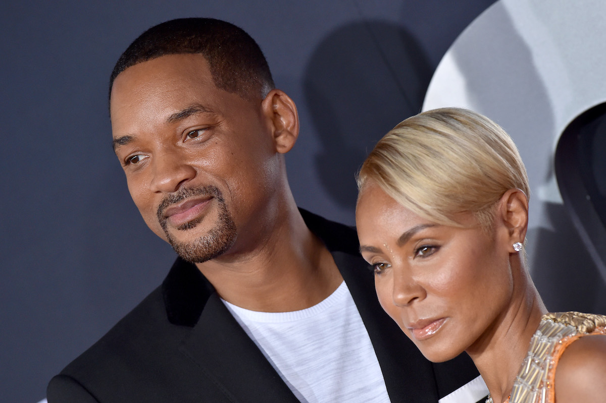 Will Smith and Jada Pinkett Smith at the'Gemini Man' premiere