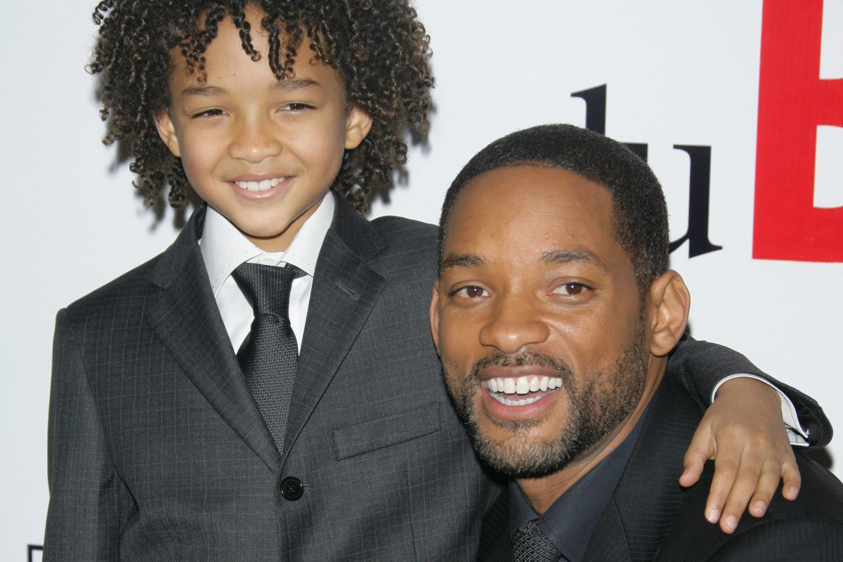 Will Smith and Jaden Smith movie Pursuit of Happyness premiere