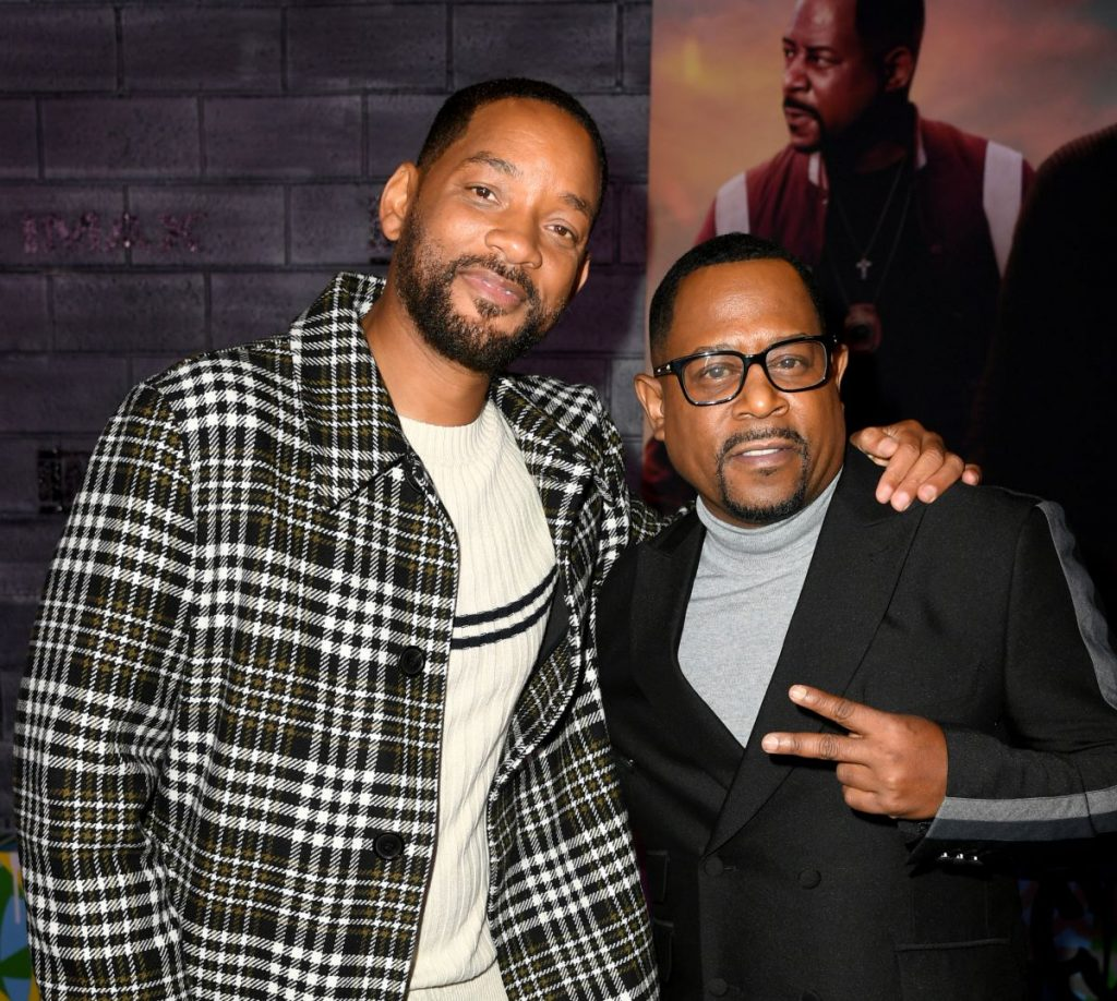 """Will Smith and Martin Lawrence at the premiere of Columbia Pictures' """"Bad Boys For Life"""""""