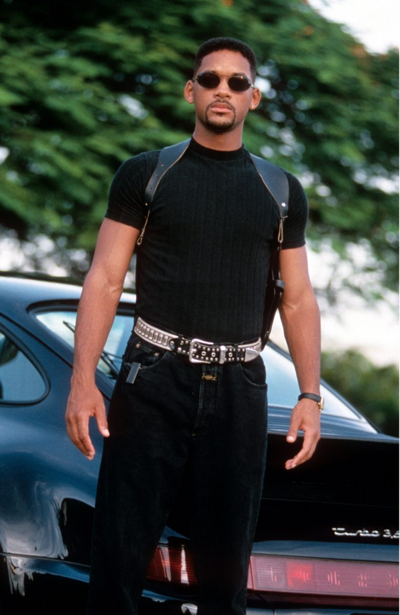 Will Smith as Mike Lowrey wearing sunglasses in Bad Boys