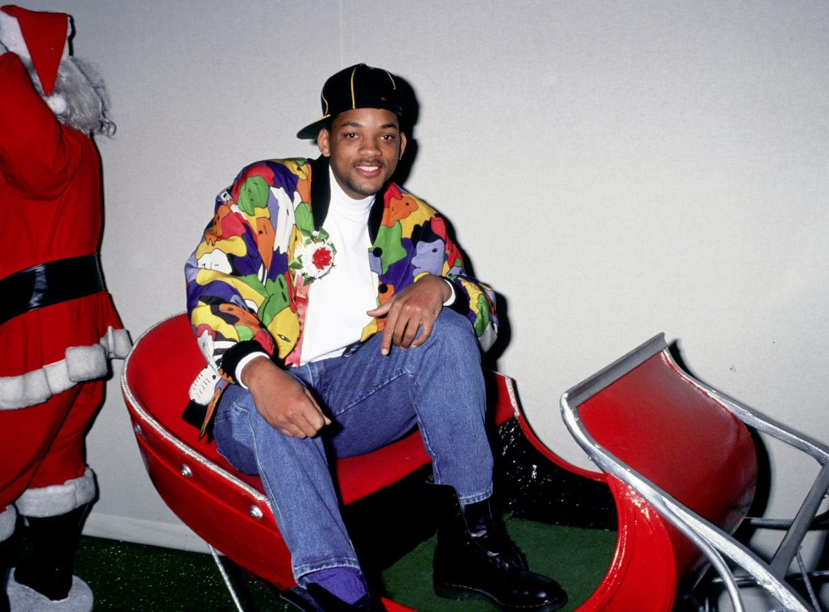 Will Smith as the Fresh Prince