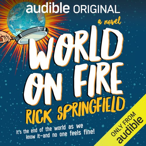 'World On Fire': Everything You Need to Know About Rick Springfield's New Book