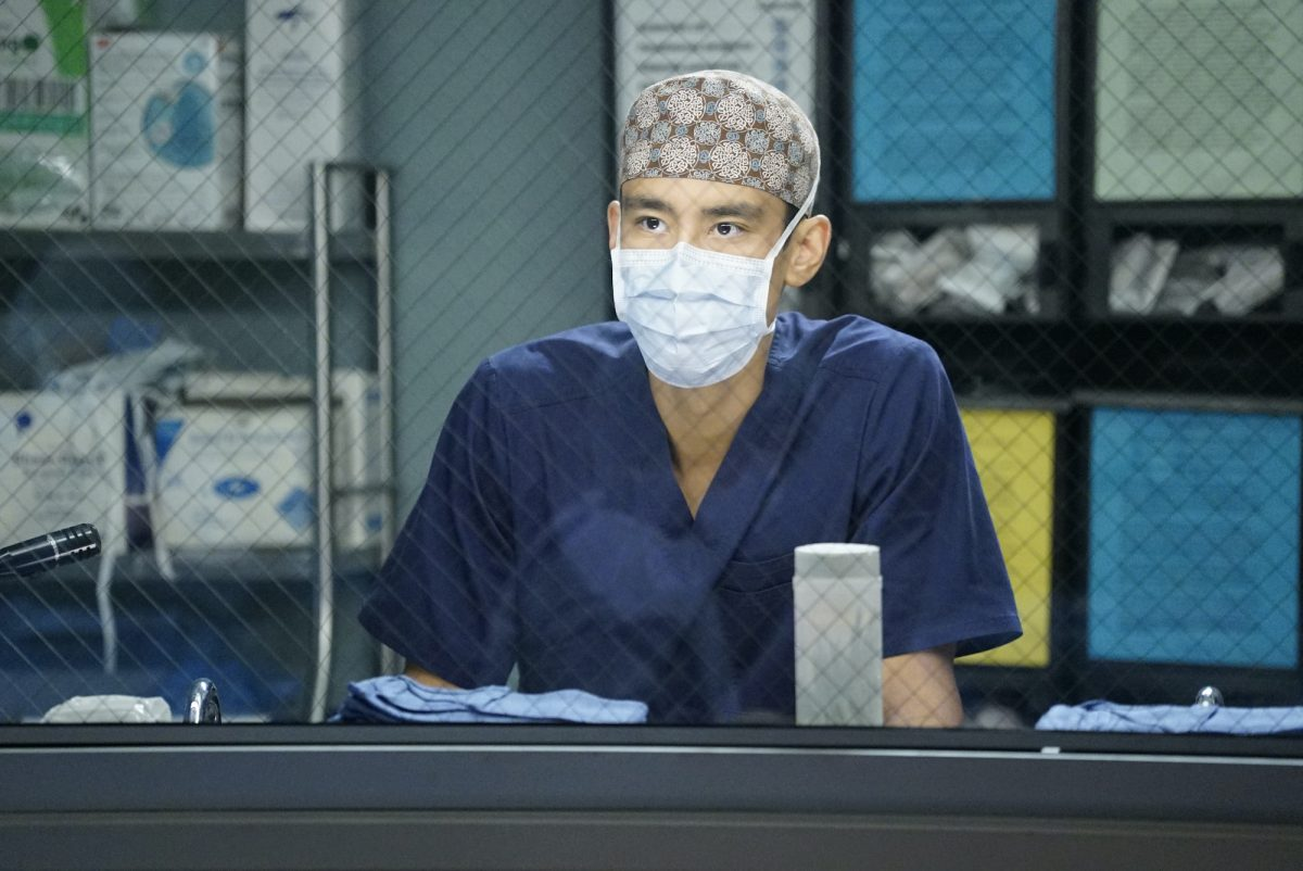 ALEX LANDI as Nico on 'Grey's Anatomy'
