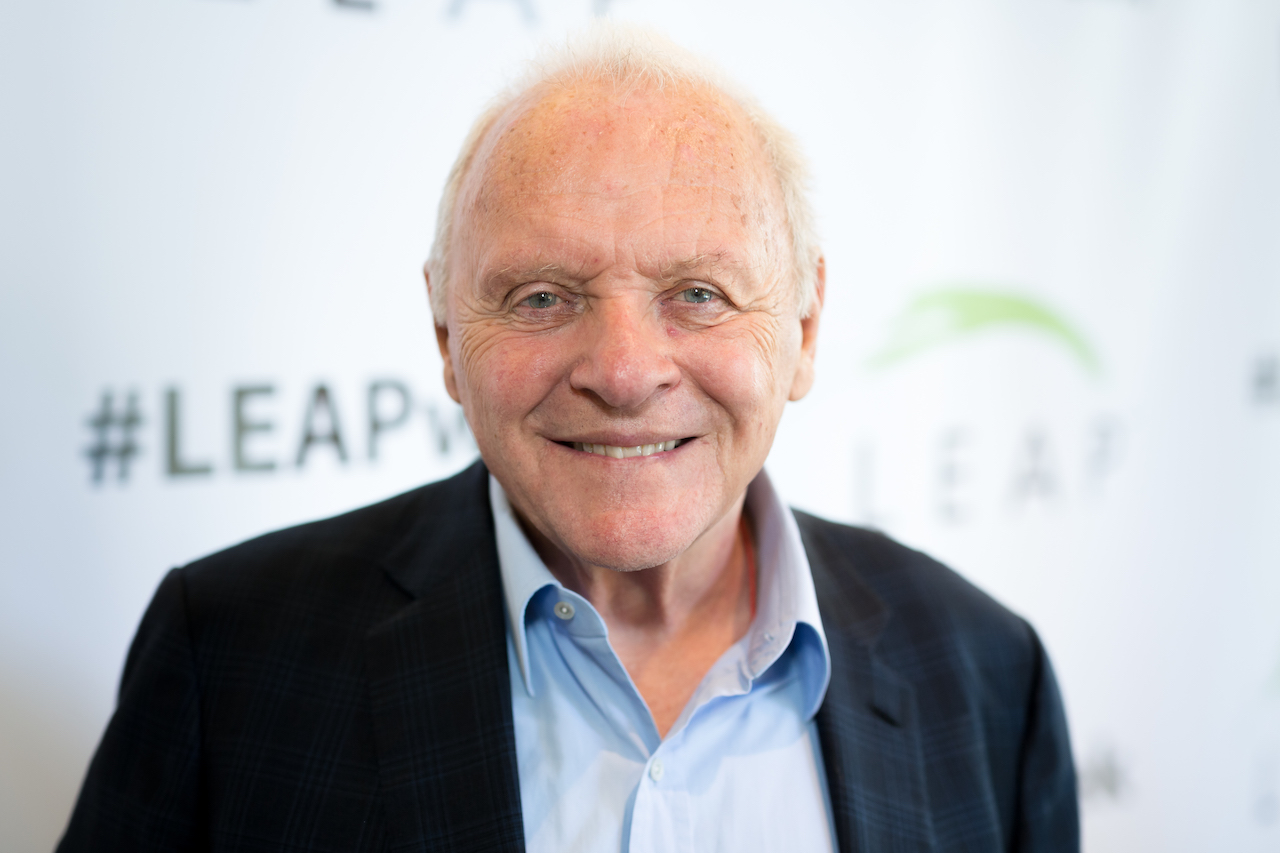 Anthony Hopkins attends the LEAP Foundation