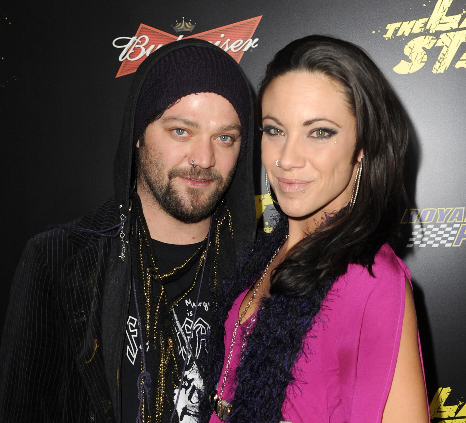 Bam Margera and wife Nicole Boyd