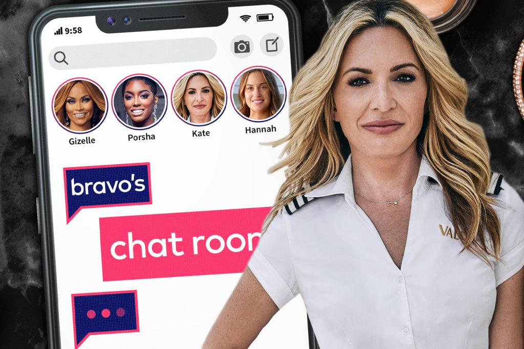 Kate Chastain shut out 'Bravo's Chat Room'