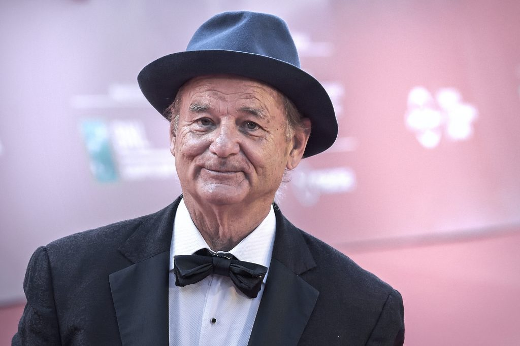 Bill Murray in a hat and tux