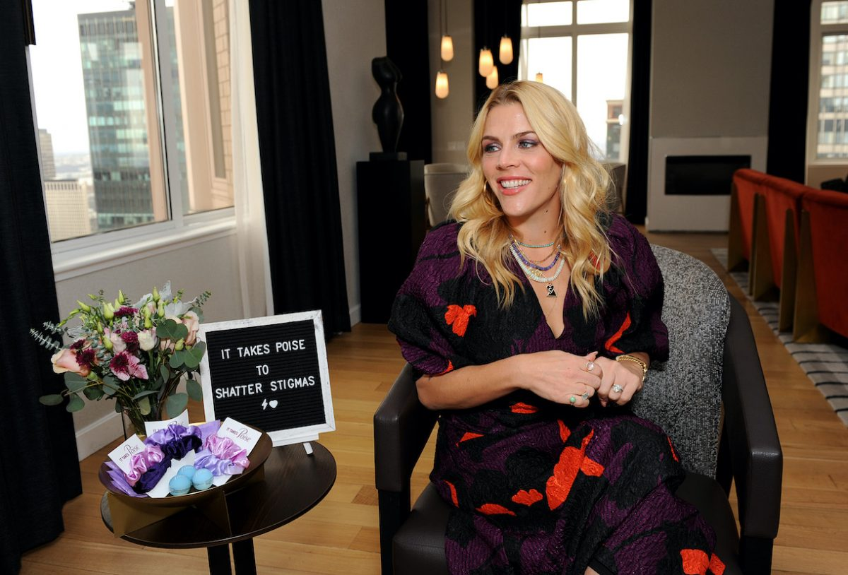 Busy Philipps discusses the importance of shattering stigmas around below-the-belt women's health topics