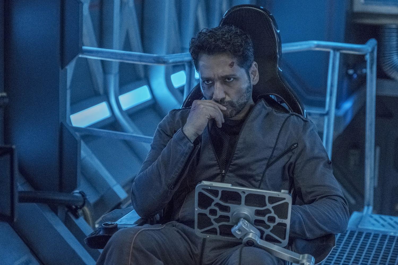 The Expanse Season 5 sees the end of Cas Anvar as Alex Kamal