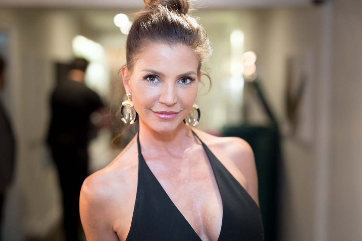 Charisma Carpenter on September 28, 2017, in Los Angeles, California.