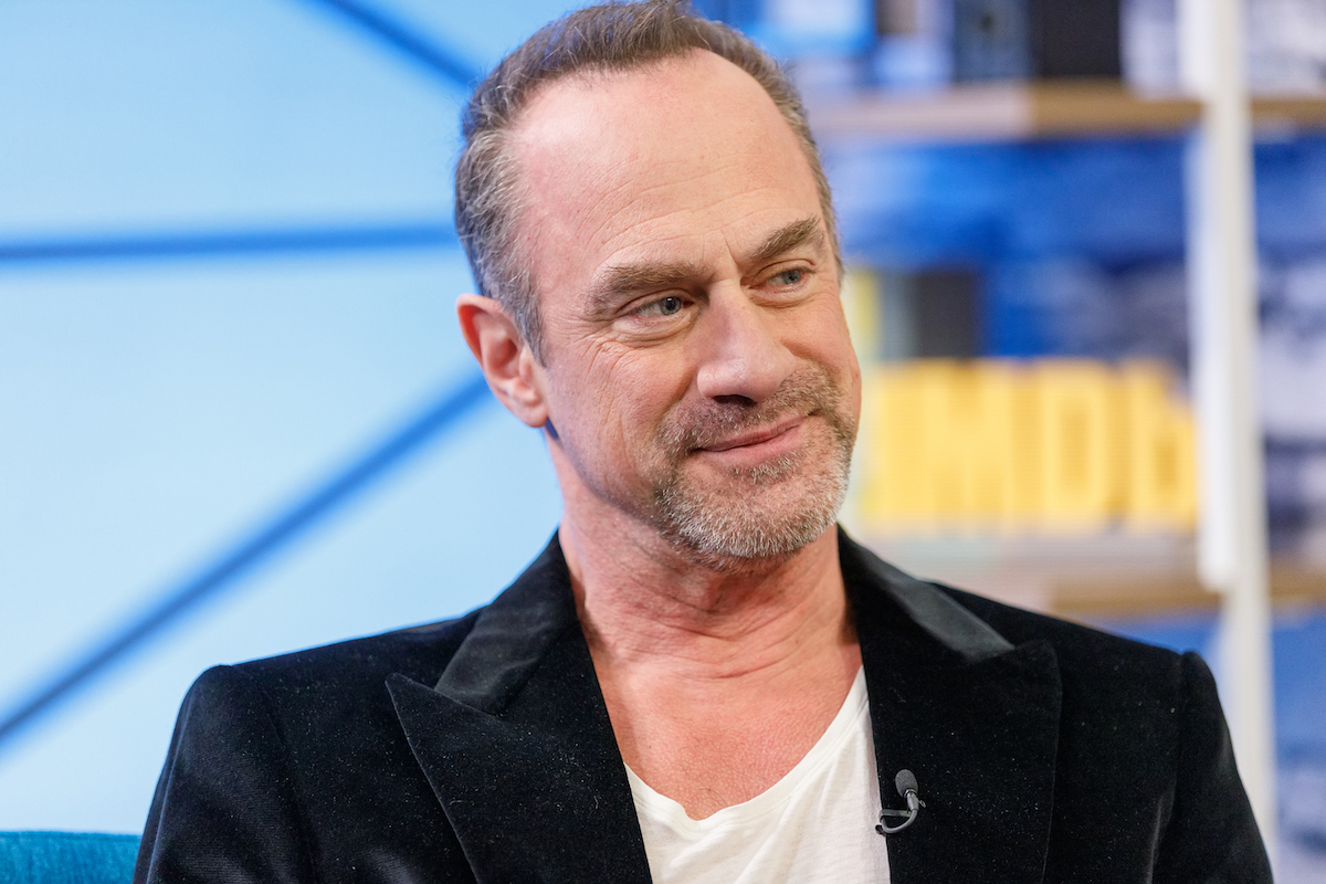 Chris Meloni as a guest on the IMDb Show
