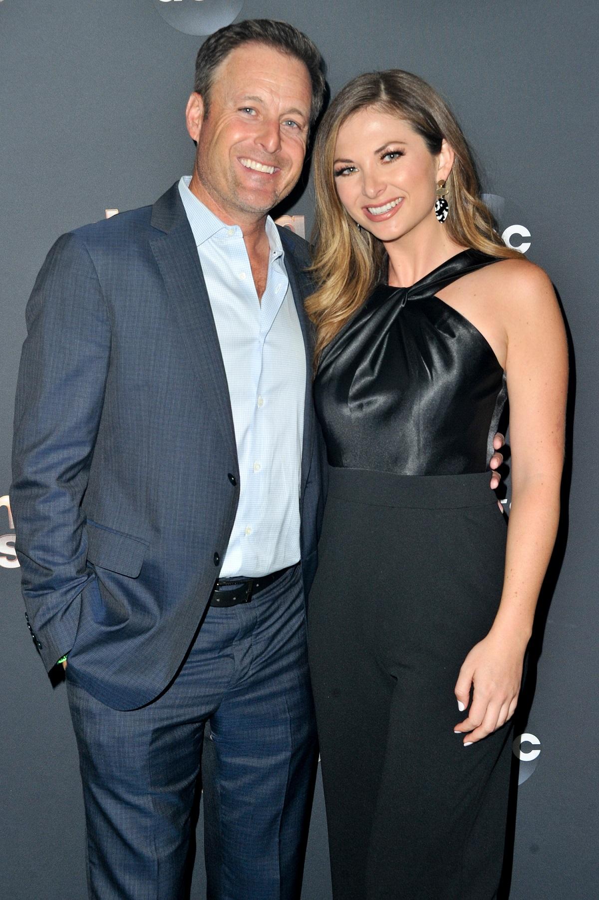 Chris Harrison and Lauren Zima