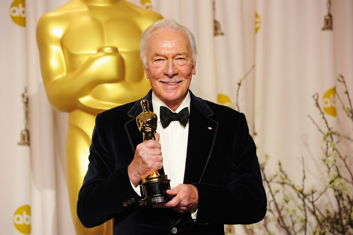 Christopher Plummer, winner of the Best Supporting Actor Award for 'Beginners,' at the 84th Annual Academy Awards on February 26, 2012, in Hollywood, California.