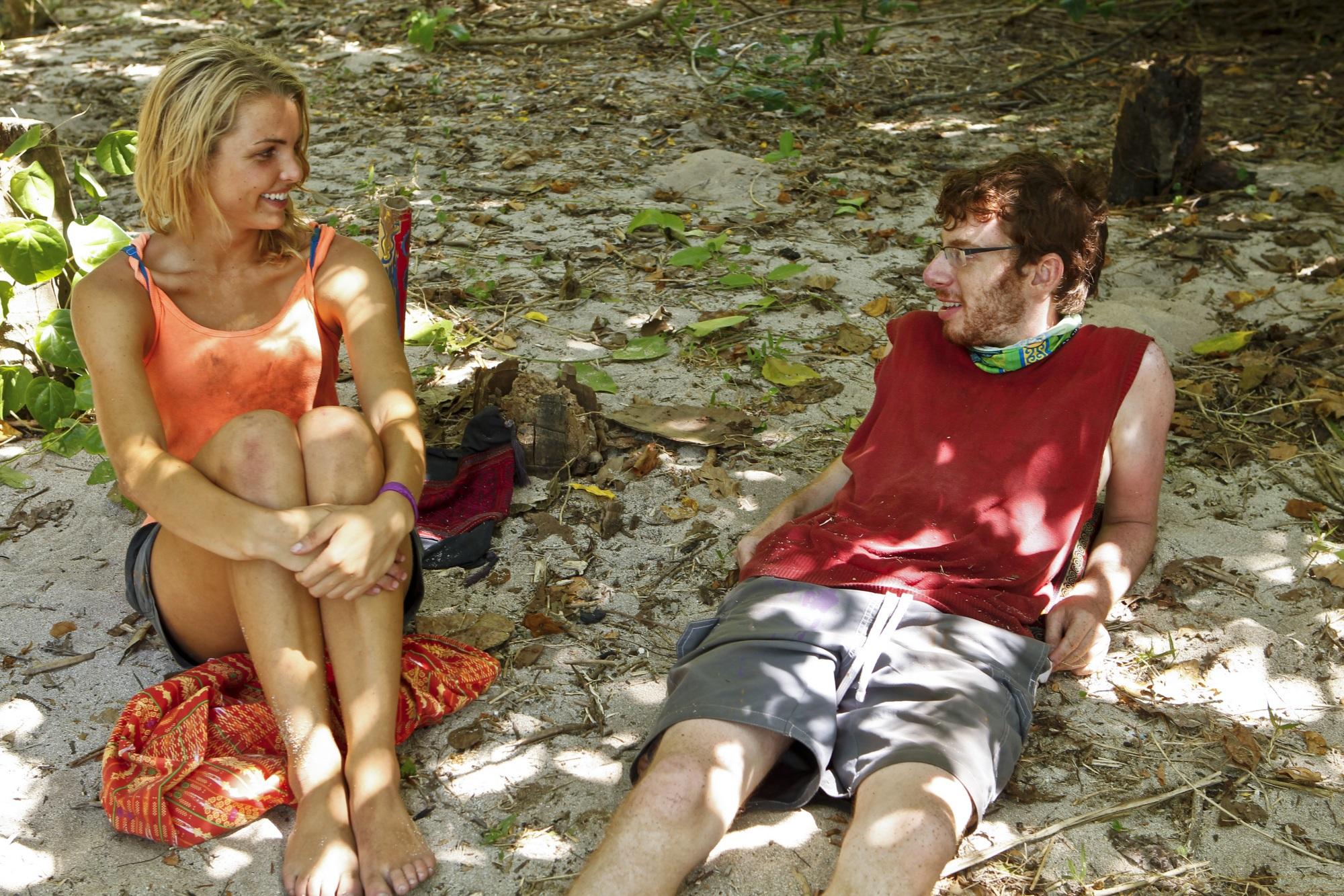 Andrea Boehlke and John Cochran of Survivor