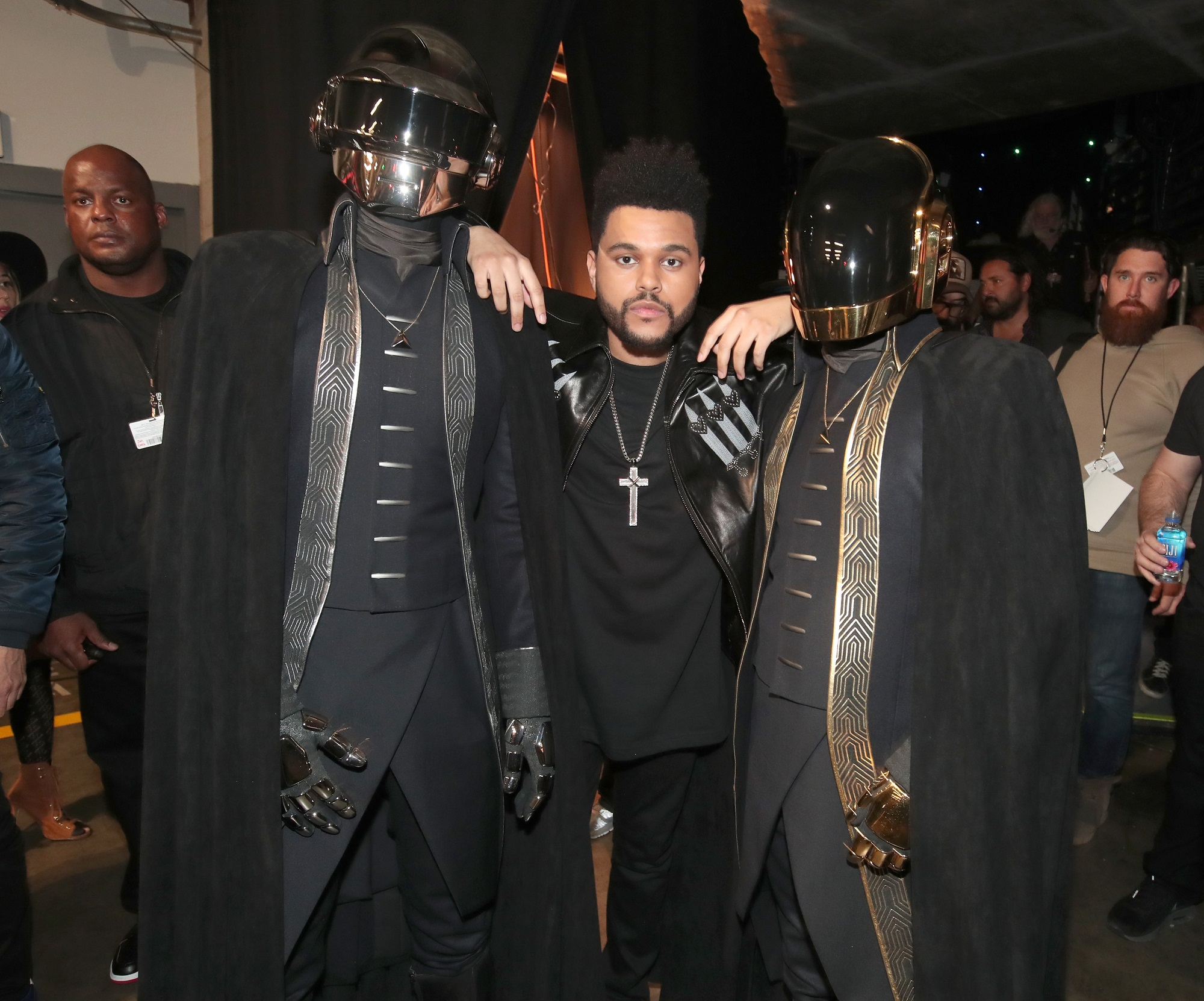 Daft Punk and The Weeknd
